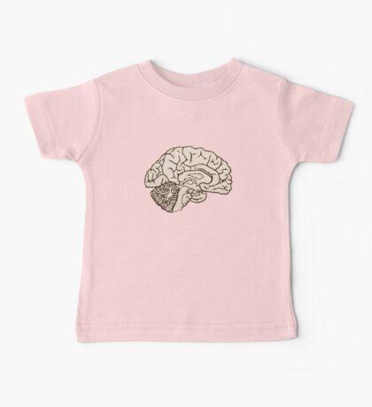 hemisected brain Baby Tee