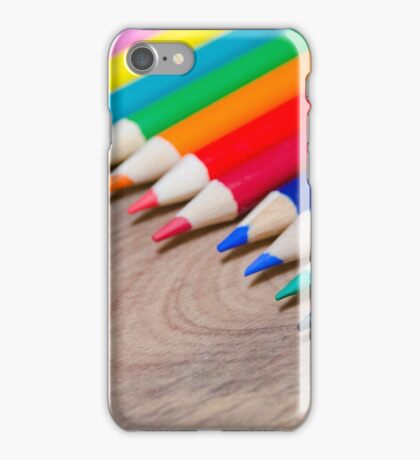 Colorful life 3 iPhone Case/Skin