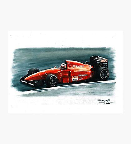 1994 Ferrari 412T1B Photographic Print