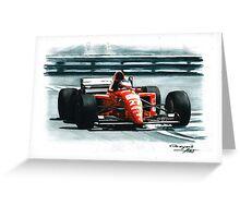 1995 Ferrari 412T2 Greeting Card