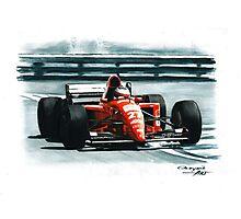 1995 Ferrari 412T2 Photographic Print