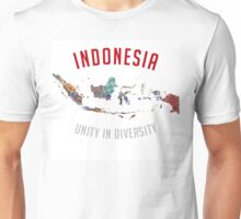 Indonesia - Unity in Diversity Unisex T-Shirt