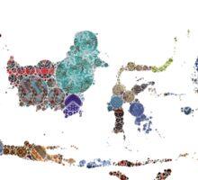 Indonesia - Unity in Diversity Sticker