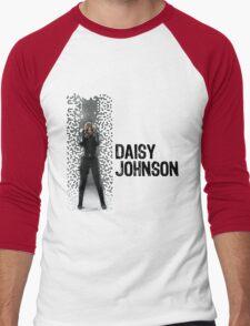 Digital Pixels Daisy Johnson AKA Quake Men's Baseball ¾ T-Shirt
