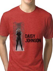 Digital Pixels Daisy Johnson AKA Quake Tri-blend T-Shirt