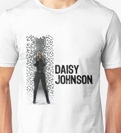 Digital Pixels Daisy Johnson AKA Quake Unisex T-Shirt