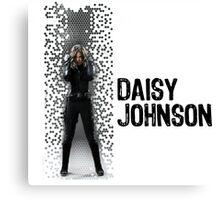 Digital Pixels Daisy Johnson AKA Quake Canvas Print