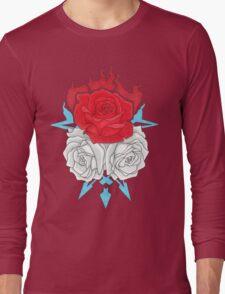 Ice Flowers Long Sleeve T-Shirt