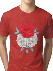 Ice Flowers Tri-blend T-Shirt