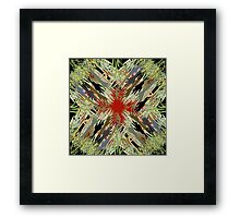 Zombies Everywhere Framed Print
