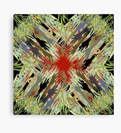 Zombies Everywhere Canvas Print