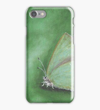 Buttefly - Green hairstreak iPhone Case/Skin
