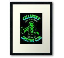 Callahan's Shooting Club Colour Framed Print