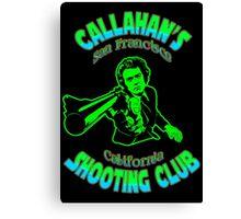 Callahan's Shooting Club Colour Canvas Print