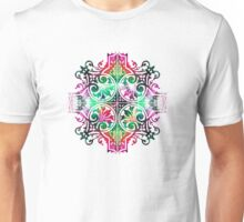 Bright Pattern Art - Color Fusion Design 9 By Sharon Cummings Unisex T-Shirt