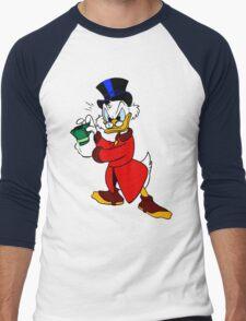 Scrooge McDuck Full Men's Baseball ¾ T-Shirt