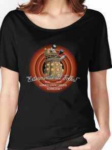 exterminate all folks Women's Relaxed Fit T-Shirt