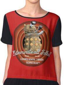 exterminate all folks Chiffon Top