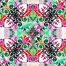 Bright Colorful Pattern Art - Color Fusion Design 10 By Sharon Cummings by Sharon Cummings