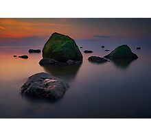 Dusk on Long Island Sound Photographic Print