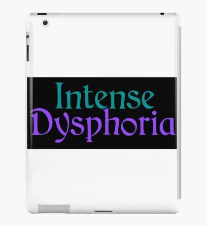 Intense Dysphoria iPad Case/Skin