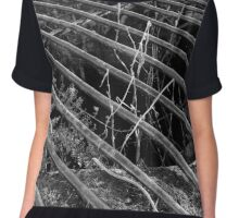 Abandoned Victorian Icehouse Chiffon Top