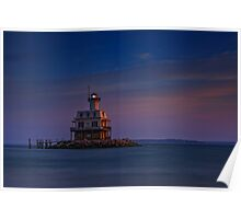 The Bug Light at Dusk Poster
