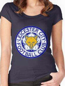 Leicester City F.C Women's Fitted Scoop T-Shirt