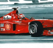 1999 Ferrari F399 Sticker