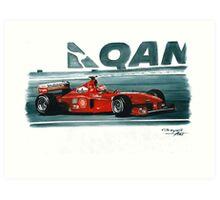 1999 Ferrari F399 Art Print