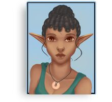 Woman Elf Canvas Print