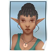 Woman Elf Poster