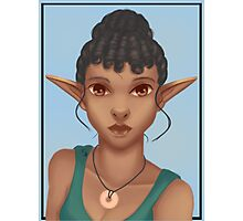 Woman Elf Photographic Print