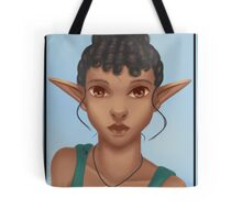 Woman Elf Tote Bag