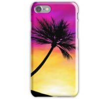 Palm Tree Sunset iPhone Case/Skin