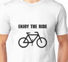 Enjoy Ride Bike Unisex T-Shirt