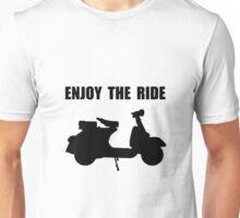 Enjoy Ride Moped Unisex T-Shirt