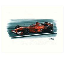 2000 Ferrari F1-2000 Art Print