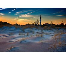 Sunset on Fire Island Photographic Print