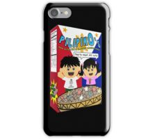 PilipinOs Cereal Box iPhone Case/Skin