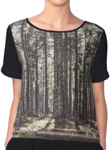 the sound of the forest Chiffon Top