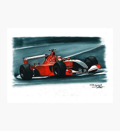 2001 Ferrari F2001 Italian GP Photographic Print