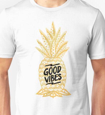 Good Vibes Ananas Unisex T-Shirt