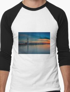 Day's End on Fire Island Men's Baseball ¾ T-Shirt