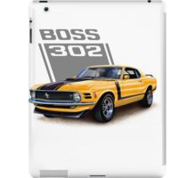 Ford Mustang,Classic Cars,American Muscle Cars iPad Case/Skin