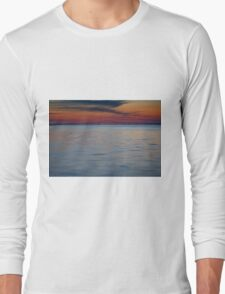 Great South Bay and Robert Moses Causeway Long Sleeve T-Shirt
