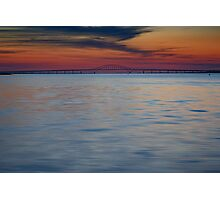 Great South Bay and Robert Moses Causeway Photographic Print