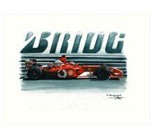 2002  Ferrari F2002 Art Print