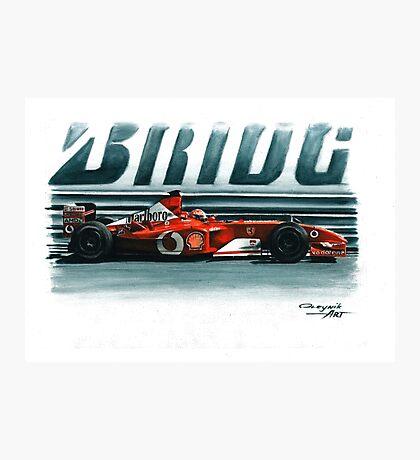 2002  Ferrari F2002 Photographic Print