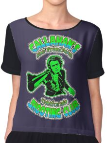 Callahan's Shooting Club Colour 2 Chiffon Top